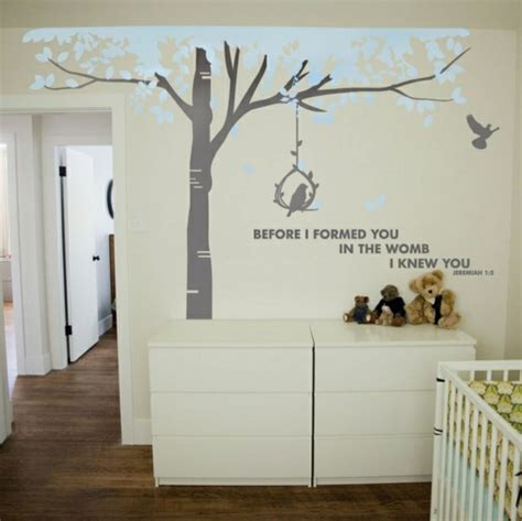 decoration murale bebe chambre deco murale pour chambre de bebe