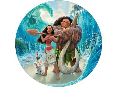 moana edible cake topper 7 for sale in dalkey dublin from flour power