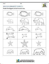 preschool math worksheets matching