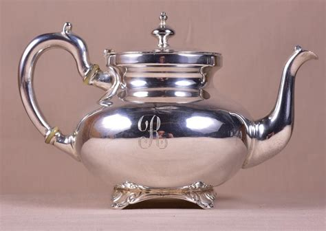 Sterling Silver Teapots & Sets For Sale At Online Auction