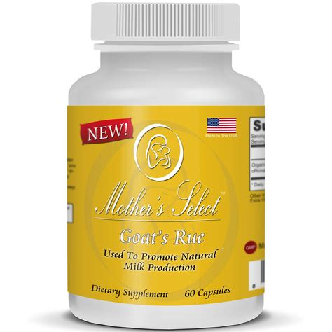 Mothers Select Goats Rue Lactation Supplement To