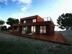 de maison en kit toit plat achat With photo maison toit plat 14 agrandir teraa