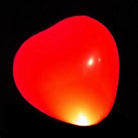 re lumineuse led ballon lumineux led coeur deco lumineuse