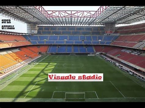 Stadio San Siro Ingresso 7 by Visuale Stadio San Siro Giuseppe Meazza Fila 7 Settore 227
