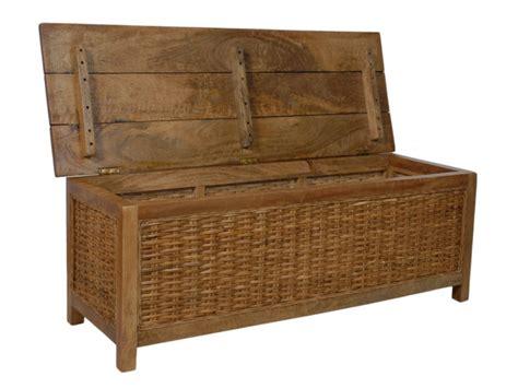 bureau rotin en bois de manguier et rotin pratique et design woma