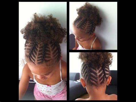 African American Little Girl Braid Hairstyles