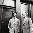 Johannes Kleiman et Victor Kugler. Avec Miep Gies et Bep ...