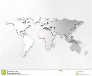 Carte Du Monde Metal : argent de carte du monde illustration stock image du affaires 35178287 ~ Teatrodelosmanantiales.com Idées de Décoration