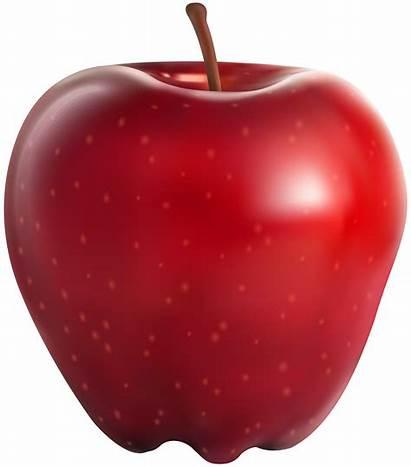 Apple Transparent Clipart Background Clip Apples Fruits