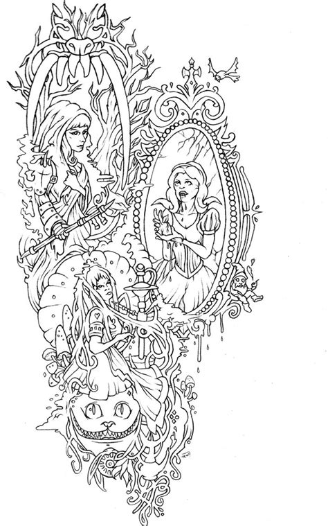 Badass Fairy Tales Tattoo by bedowynn on DeviantArt