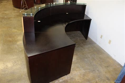 used reception desk used reception desk custom built used cubicles