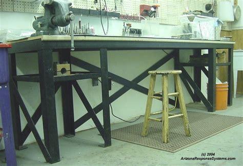 metal work bench ideas  woodworking