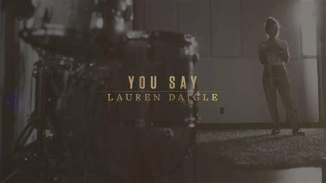 You Say (lyric Video) #trend