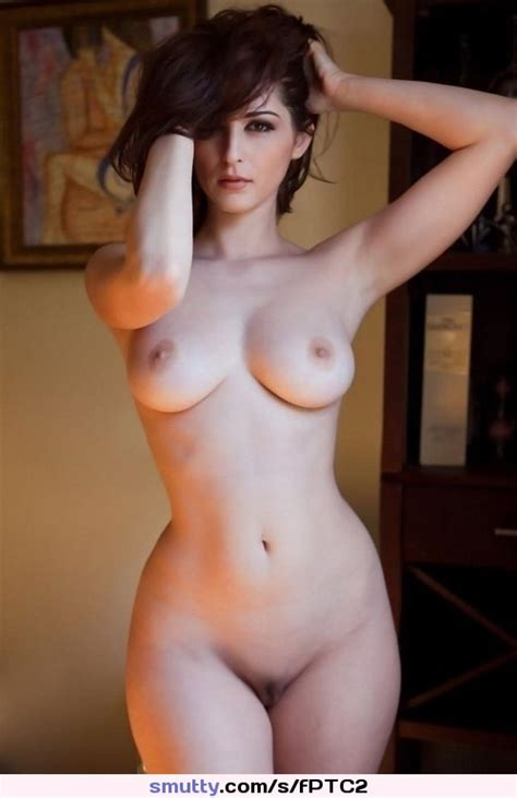 Naked Standing Shaved Hourglass Brunette Handsonhead