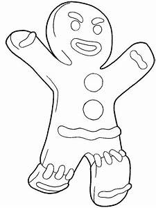 How to draw Gingerbread Man from Shrek with easy step by ...