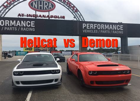 2018 Dodge Demon vs Dodge Hellcat Widebody Exhaust Note