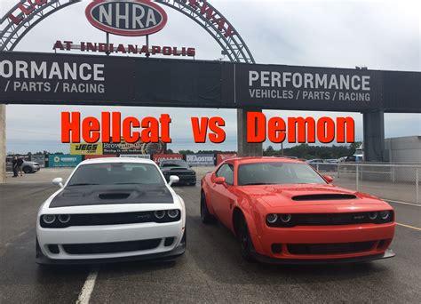 2018 Dodge Demon Vs Dodge Hellcat Widebody Exhaust Note