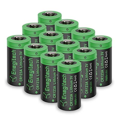 Best Rechargeable Cr123a Lithium Batteries by List Of The Top 9 Lithium Cr123a 3v Batteries You Can Buy