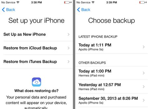 how to restore your iphone from icloud how to backup and restore iphone from icloud