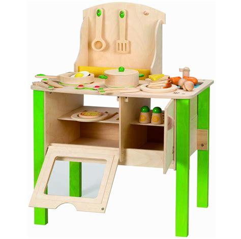 hape gourmet kitchen green hape gourmet kitchen kid s wooden play kitchen in green 4147