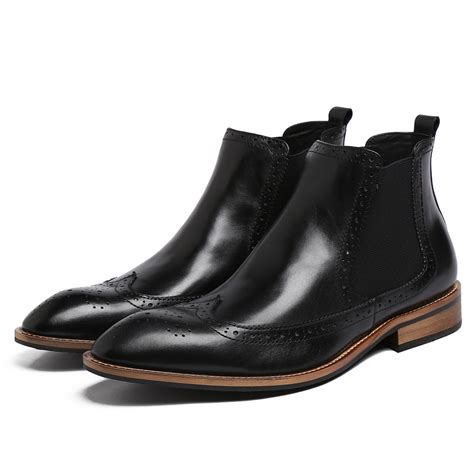 mens ankle boots boot hto