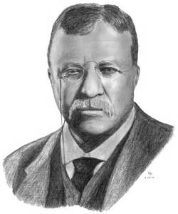 Theodore Roosevelt Drawing