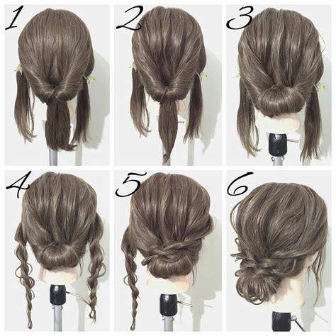 easy hair styles for prom best 25 medium hair updo ideas on hair updos