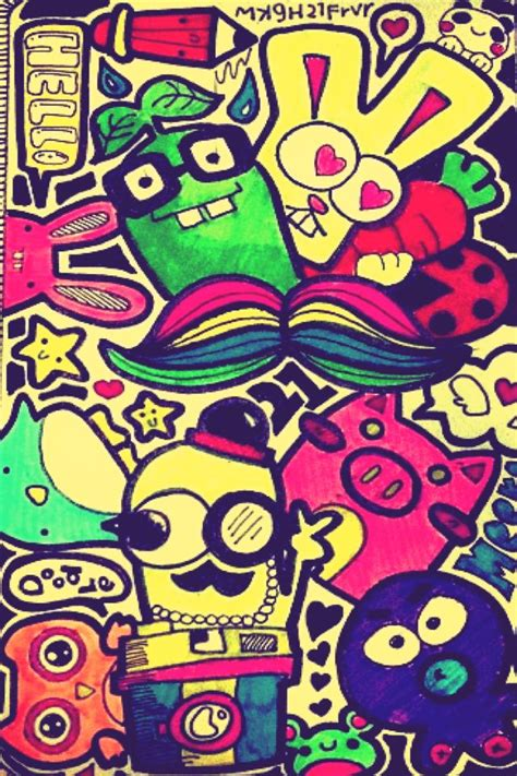 doodle iphone