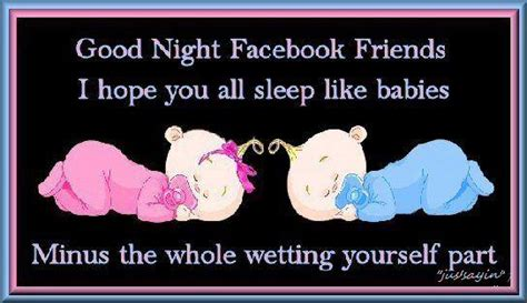 Funny Good Night Quotes For Facebook Status Image Quotes