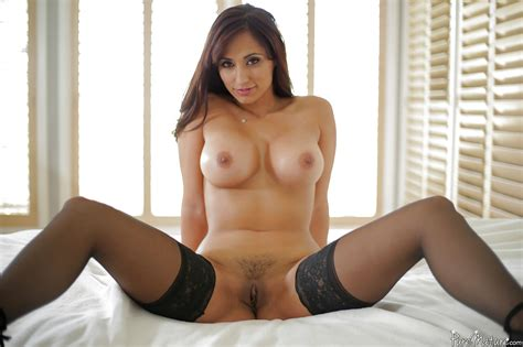 Hot Wife Reena Sky Displaying Perfect Milf Tits While