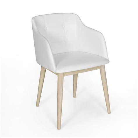 chaises de séjour chaise de séjour capitonnée blanche cork consoles