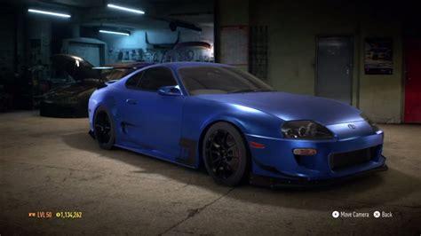 speed  toyota supra sz   hp build