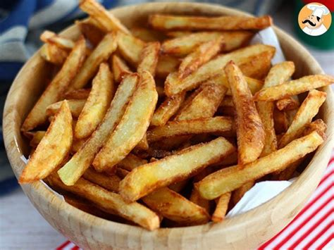 patatas fritas crujientes caseras receta petitchef