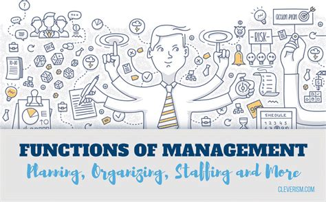 functions  management planning organizing staffing