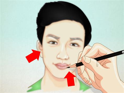 draw   portrait  steps  pictures wikihow