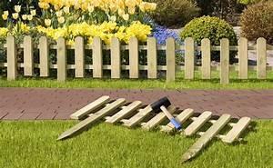 Kleiner Gartenzaun Holz : gartenzaun steckzaun holz kdi 100 x 25 50 cm bei ~ Sanjose-hotels-ca.com Haus und Dekorationen
