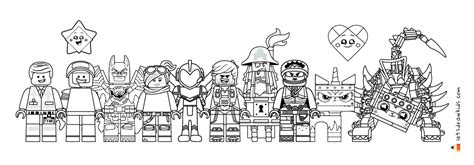 lego   drawing lego minifigures coloring pages