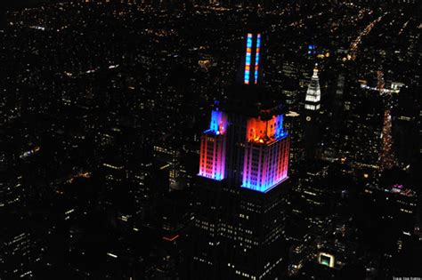 empire state building light show led display synchronized