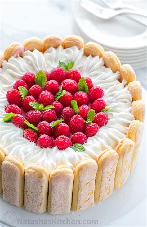 cuisine russe dessert cake recipe with raspberries recipe best