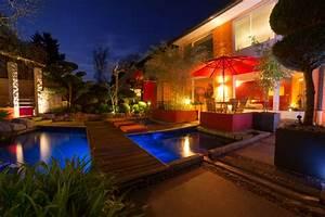 Solar Led Terrassenbeleuchtung : gartenbeleuchtung das gr n im rechten licht bausparkasse schw bisch hall ~ Sanjose-hotels-ca.com Haus und Dekorationen