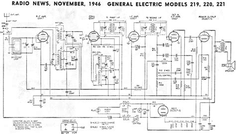 General Electric Wiring Schematic by Vintage Ge General Electric All Transistor Radio Model