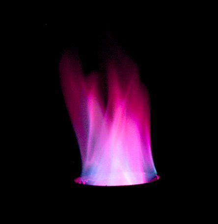 potassium color purple easy for colored flames