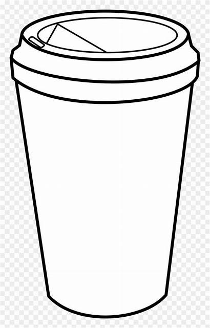 Coffee Coloring Pages Cups Clipart Pinclipart