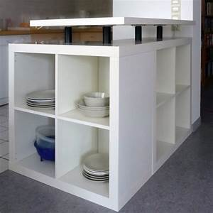 Ikea Regale Küche : k cheninsel aus ikea m beln diy schr nke oder regale f r die k che selber machen k cheninsel ~ Watch28wear.com Haus und Dekorationen