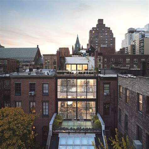 High Definition Contemporary Gramercy Park Townhouse, New