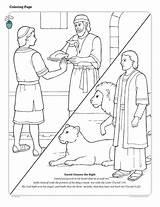 Coloring Lds Daniel Den Lions Bible Meat Friend Lion Testament Neues Mormon Ausmalbilder Books Churchofjesuschrist Lessons Primary Stories Holamormon Youngandtae sketch template