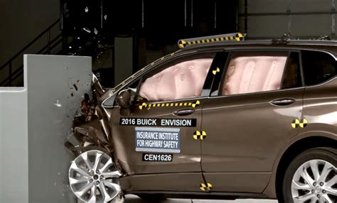 buick envision earns top safety pick gm authority
