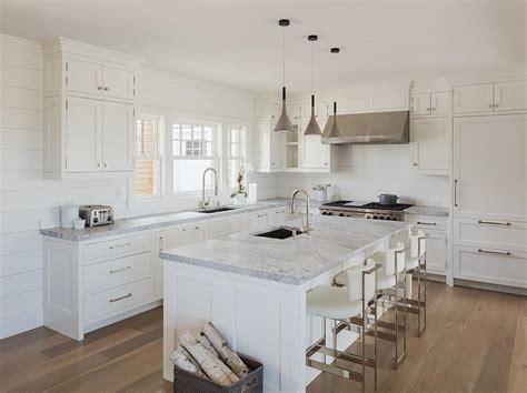 cottage kitchen backsplash chic white cottage kitchen features white shaker
