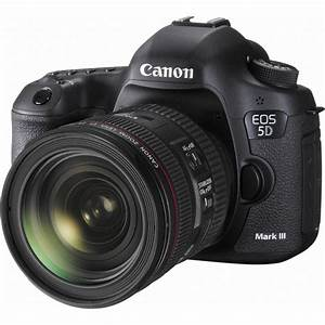 Canon EOS 5D Mark III DSLR Camera with 24-70mm Lens 5260B054 B&H