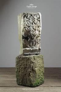Salvaged Carved Stone Decorative Corbel